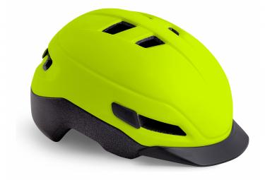 MET Grancorso Helmet Yellow Fluo Mat Reflective