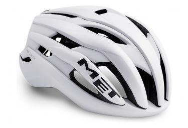 Met Helmet Trenta White Mat Brillant M  56 58 Cm