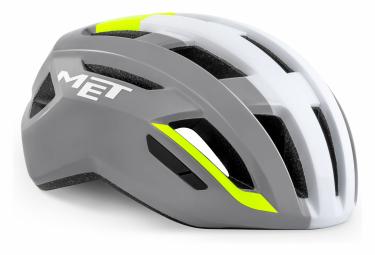 MET Vinci Mips Helmet Grey Yellow