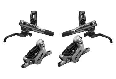 Pair of Brakes Shimano XTR BR-M9120 Rine J-Kit (without disk) 170cm 100cm Silver