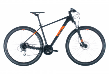 MTB Semi Rígida Cube Aim Pro 27.5'' Noir / Orange 2020
