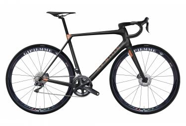 Vélo de Route Heroïn HR Shimano Ultegra Di2 11V Freins à Disques Noir / Cooper