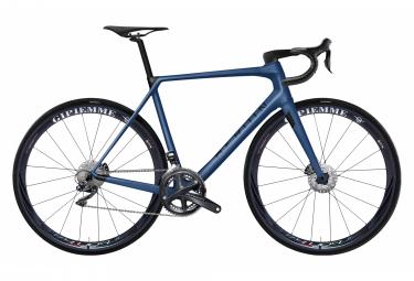 Vélo de Route Heroïn HR Shimano Ultegra Di2 11V Freins à Disques Bleu nuit / Noir