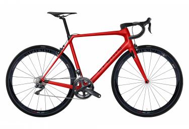 Vélo de Route Heroïn HR Shimano Ultegra Di2 11V Rouge / Noir