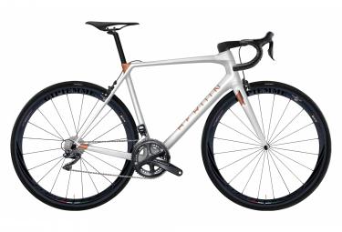 Vélo de Route Heroïn HR Shimano Ultegra Di2 11V Blanc / Cooper