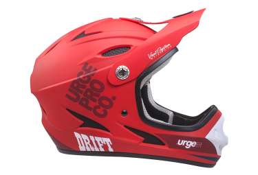 URGE Drift Kid's Full Face Helmet Red
