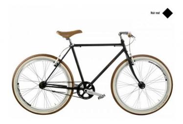 Image of Casadei velo fixie 28 noir mat h50