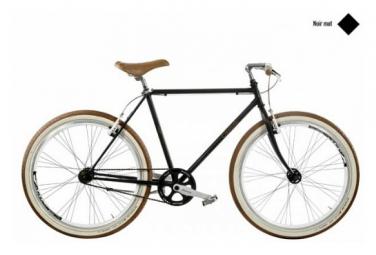 Image of Casadei velo fixie 26 noir mat h54
