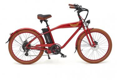 Ariel Rider V lo  lectrique W-class Premium rouge Vitesse 25km/h
