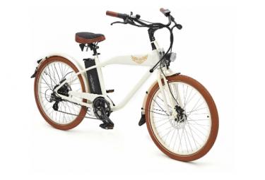 Ariel Rider V lo  lectrique W-class Premium blanc Vitesse 25km/h