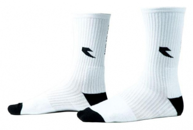 Chaussettes TALL ORDER Logo - White w/ black logo