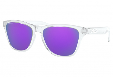 Oakley Frogskins XS Youth Fit / Prizm Purple / Transparent / Ref: OJ9006-1453
