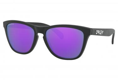 Oakley Frogskins Brille / Prizm Purple / Schwarz / Ref: OO9013-H655