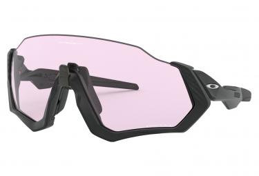 Gafas Oakley Flight Jacket black pink Prizm Low Light