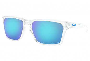 OAKLEY Paire Lunettes SYLAS POLISHED CLEAR PRIZM SAPPHIRE