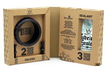 Peaty's XC / Urban 25 mm Tubeless Conversion Kit