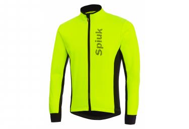 Spiuk Anatomic Thermal Jacket Neon Yellow Black