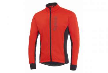 Spiuk Anatomic Thermal Jacket Red Black