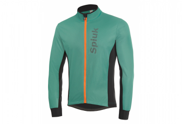 Spiuk Anatomic Thermal Jacket Green Black