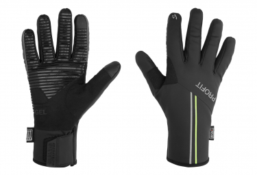 Spiuk Profit Cold&Rain Waterproof Winter Gloves Black