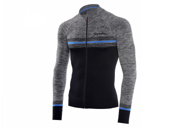 Spiuk Teknik Seamless Long Sleeve Jersey Black Grey