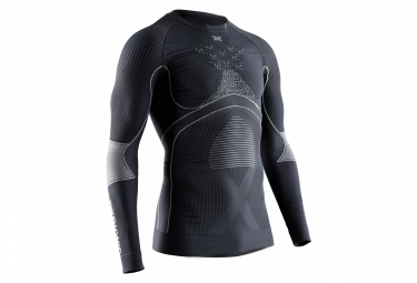 X bionic energy accumulator 4 0 long sleeves black grey m
