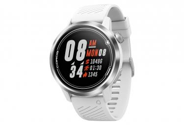 Coros Apex 46 mm GPS Watch White Silver