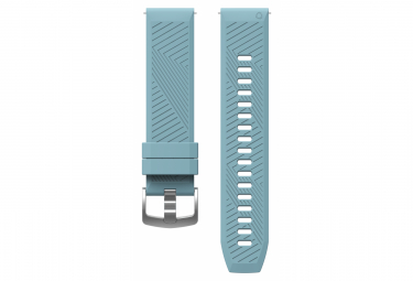 Image of Bracelet silicone coros apex 42 mm bleu pale