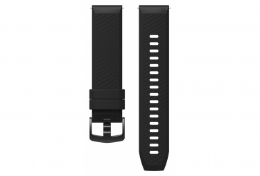 Coros Apex 42 mm Silicone Quick Release Band Black