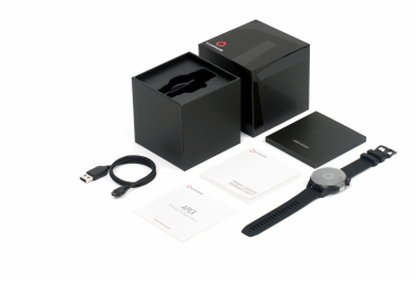 Montre de Sport Coros Apex 46 mm Noir / Gris
