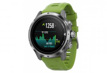 Coros Apex Pro GPS Watch Green Silver