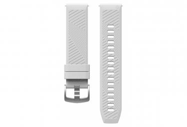 Bracelet Silicone Coros Apex 42 mm Blanc