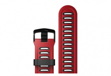 Coros Pace Silicone Band Red Black