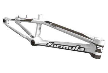 Cadre BMX Race FORMULA Antimatter 1.0 Glossy Aurora White/ Silver