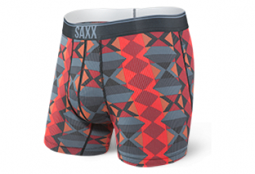 Saxx Performance Quest 2.0 Boxer Red