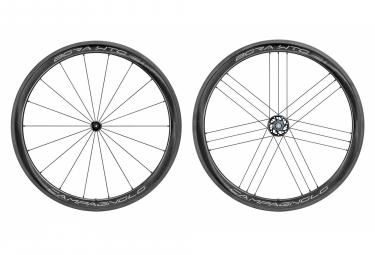 Juego de ruedas Campagnolo Bora WTO 45 Bright Label Tubeless Ready | 9x100 - 9x130 mm