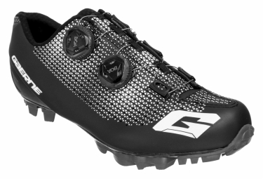 Pair of Gaerne G.KOBRA MTB Shoes Carbon Black EPS Insole