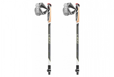 Par de tonos B de Nordic Walking Leki Traveler Carbon Black 90 - 130cm