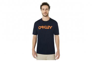 Camiseta Oakley Mark Ii Tee De Manga Corta Azul Oscuro S