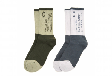 Oakley Iconic Grey Socks M