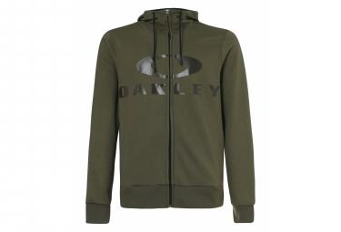 Hoodie Oakley Bark FZ Green Khaki Hoodie