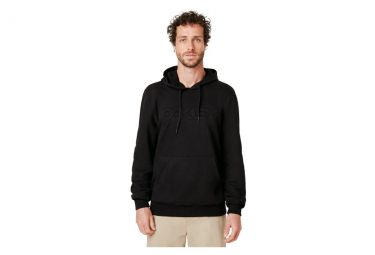Sweat à Capuche Oakley Embossed Graphic Hoodie Noir
