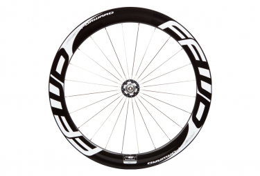 Front Wheel Fast Forward Track F6T Carbon Tubular White