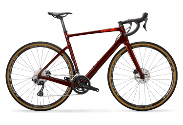 Gravel Bike Cerv lo Asp ro Disc Shimano GRX 11V Borgoña / Dorange 2020