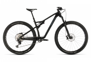 Cube Full Suspension MTB AMS 100 C:68 Race 29 Shimano XT 12s Carbon / Grey 2020