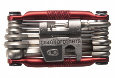 Multi-outils Crank Brothers M19 Rouge By ALLTRICKS