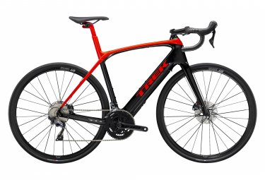 Vélo de Route Électrique Trek DOMANE + LT Shimano Ultegra 11V Rouge Noir 2020