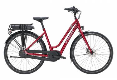 Bicicleta Ciudad Mujer Trek District+ 1 Midstep 500wh Rouge