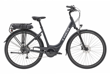Bicicleta Ciudad Mujer Trek Verve+ 1 Lowstep 300wh Noir