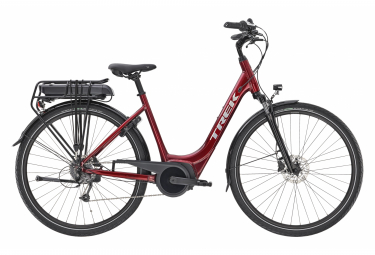 Trek Verve+ 1 Lowstep 500wh Womens E-Bike  Rouge